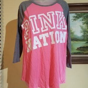 Pink nation top f11